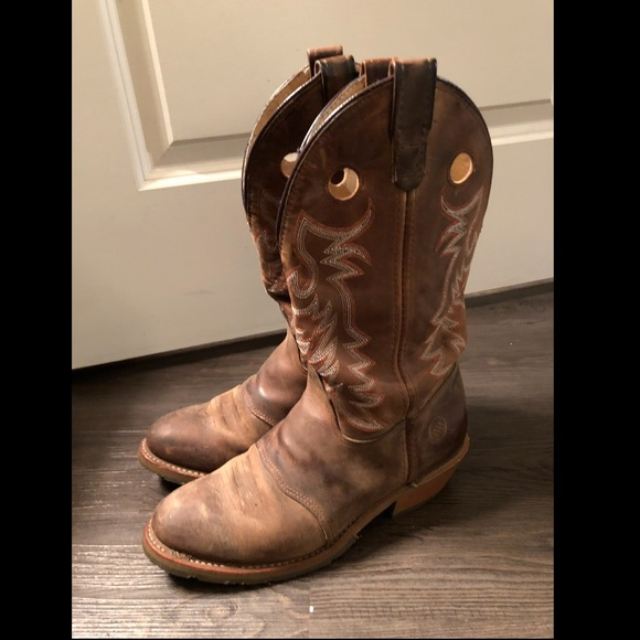 2fa75d36098 Double H Boots Women's 10.0W